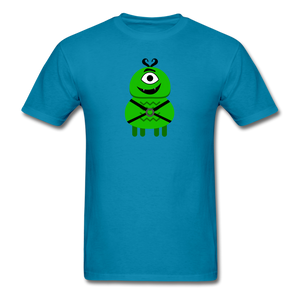 Alien Daddy T-Shirt - turquoise