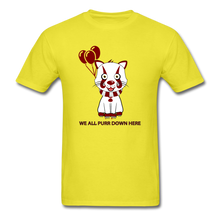 Load image into Gallery viewer, Kittywise (IT Inspired) Halloween T-Shirt - yellow