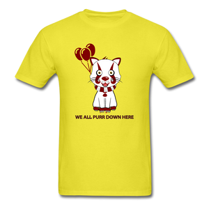 Kittywise (IT Inspired) Halloween T-Shirt - yellow
