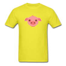 Load image into Gallery viewer, Cute Pig T-Shirt - yellow