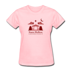 Star's Hollow (Gilmore Girls) Women's T-Shirt - pink