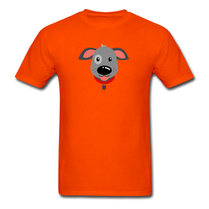 Puppy Power Pride T-Shirt - orange