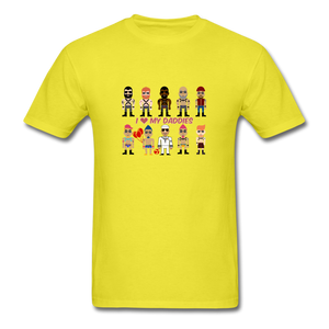 I Love My Daddies Men's T-Shirt - yellow