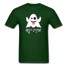 Load image into Gallery viewer, Boo-kake Halloween T-Shirt - forest green