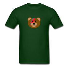 Load image into Gallery viewer, Bowie Bear T-Shirt - forest green