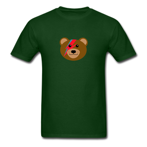 Bowie Bear T-Shirt - forest green