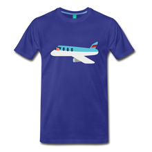 Load image into Gallery viewer, Flying Pig T-Shirt - royal blue