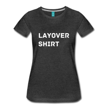 Load image into Gallery viewer, Layover Shirt Women's Cut - charcoal gray