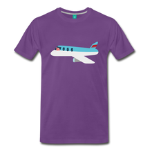 Load image into Gallery viewer, Flying Pig T-Shirt - purple