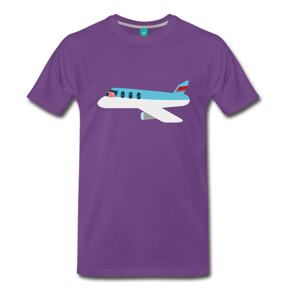 Flying Pig T-Shirt - BravoPapa Clothing
