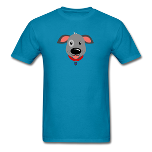 Puppy Power Pride T-Shirt - turquoise