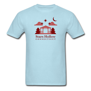 Stars Hollow Men's T-Shirt - powder blue