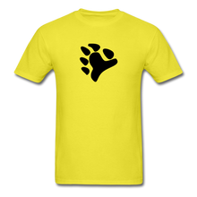 Load image into Gallery viewer, Bear Claw T-Shirt - yellow