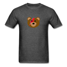 Load image into Gallery viewer, Bowie Bear T-Shirt - heather black