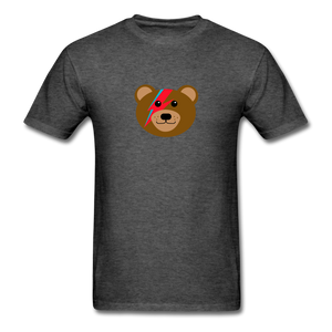 Bowie Bear T-Shirt - heather black