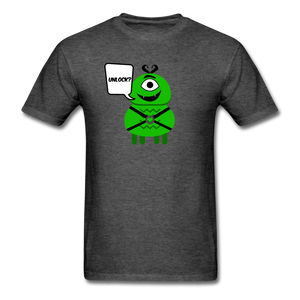 Flirty Alien T-Shirt - heather black