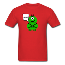 Load image into Gallery viewer, Flirty Alien T-Shirt - red
