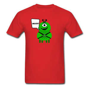 Flirty Alien T-Shirt - red