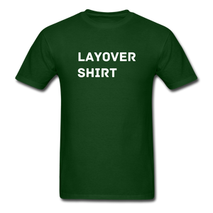 Layover Crew Life T-Shirt - forest green