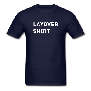 Layover Crew Life T-Shirt - navy