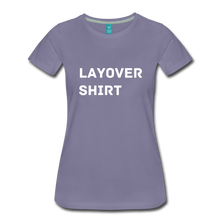 Load image into Gallery viewer, Layover Shirt Women's Cut - washed violet