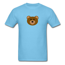 Load image into Gallery viewer, Cute Bear T-Shirt - aquatic blue