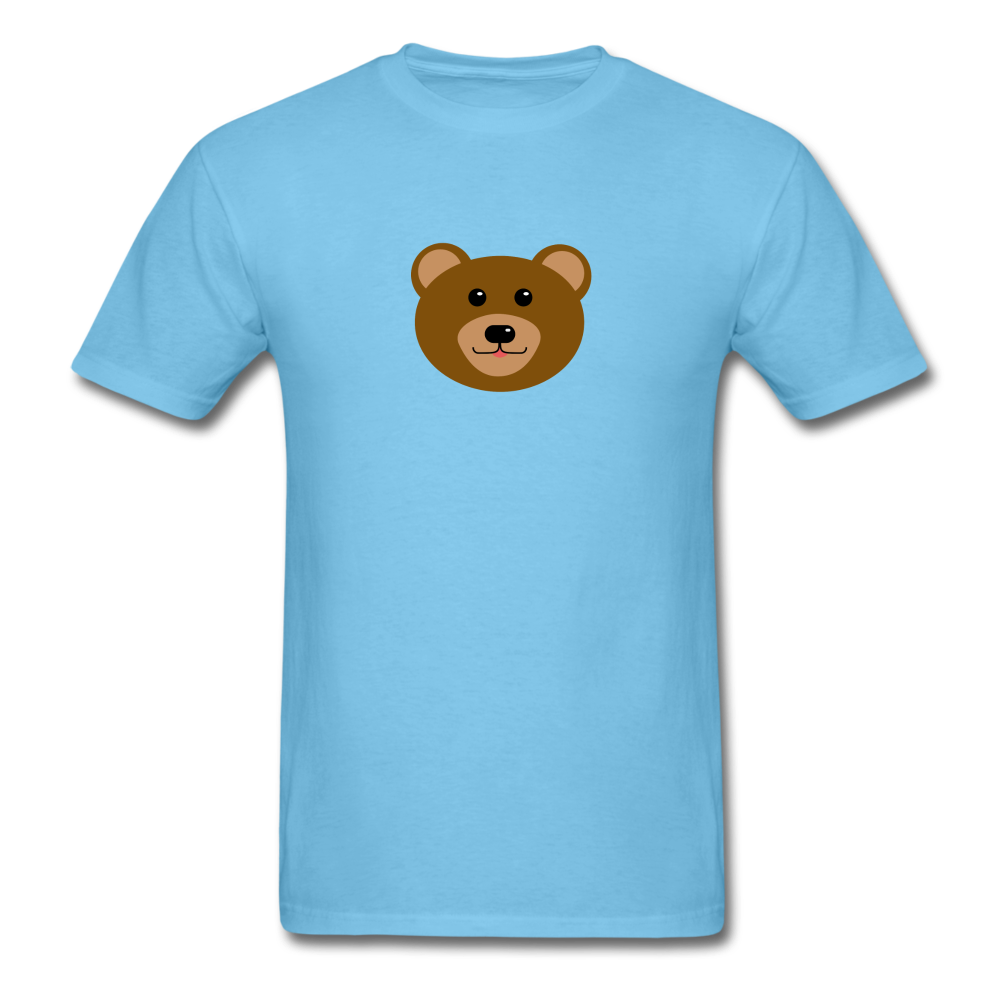 Cute Bear T-Shirt - aquatic blue