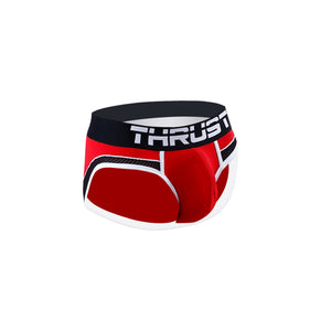 Thrust Brief Red - BravoPapa Clothing