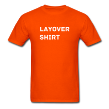 Load image into Gallery viewer, Layover Crew Life T-Shirt - orange