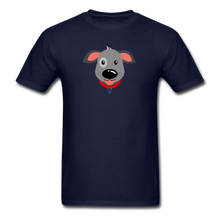 Load image into Gallery viewer, Puppy Power Pride T-Shirt - navy