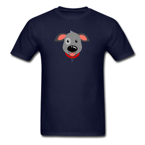 Puppy Power Pride T-Shirt - navy