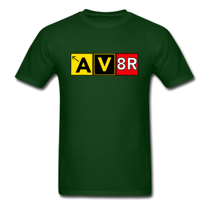 Aviator AvGeek T-Shirt - forest green