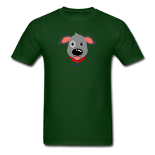 Load image into Gallery viewer, Puppy Power Pride T-Shirt - forest green