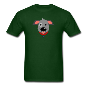 Puppy Power Pride T-Shirt - forest green