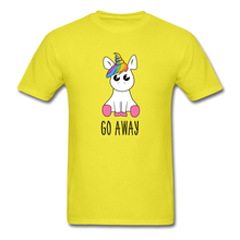 Load image into Gallery viewer, Lonely Unicorn Men's T-Shirt - yellow