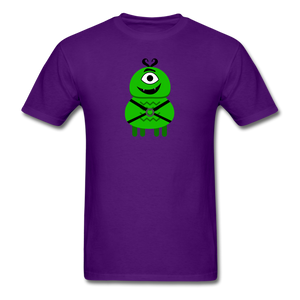 Alien Daddy T-Shirt - purple