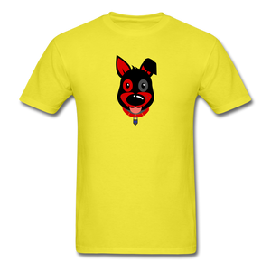 Happy Puppy T-Shirt - yellow