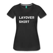 Load image into Gallery viewer, Layover Shirt Women's Cut - black