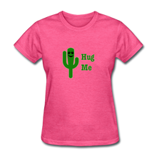 Load image into Gallery viewer, Hug Me Women's T-Shirt - heather pink