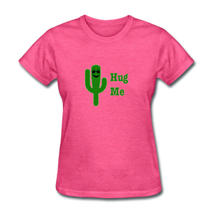 Hug Me Women's T-Shirt - heather pink