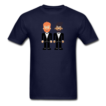 Load image into Gallery viewer, The Happy Couple T-Shirt - navy