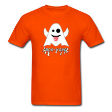Load image into Gallery viewer, Boo-kake Halloween T-Shirt - orange