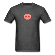 Load image into Gallery viewer, Pierced Pig T-Shirt - heather black