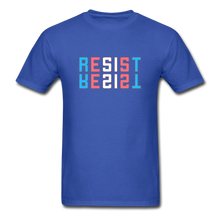 Load image into Gallery viewer, Resist T-Shirt - royal blue