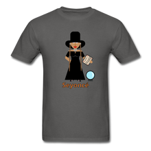 Load image into Gallery viewer, Seyoncé (Beyonce Inspired Halloween) T-Shirt - charcoal