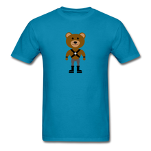 Load image into Gallery viewer, Muscle Bear T-Shirt . - turquoise