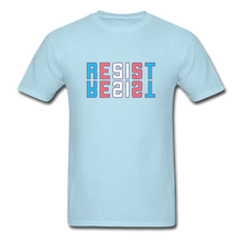 Load image into Gallery viewer, Resist T-Shirt - powder blue