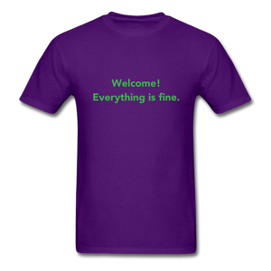 The Good Place Men's T-Shirt - purple