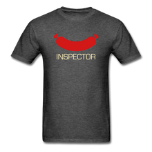 Load image into Gallery viewer, Wiener Inspector Men's T-Shirt - heather black