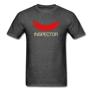 Wiener Inspector Men's T-Shirt - heather black